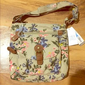 Floral cross body purse💛💕